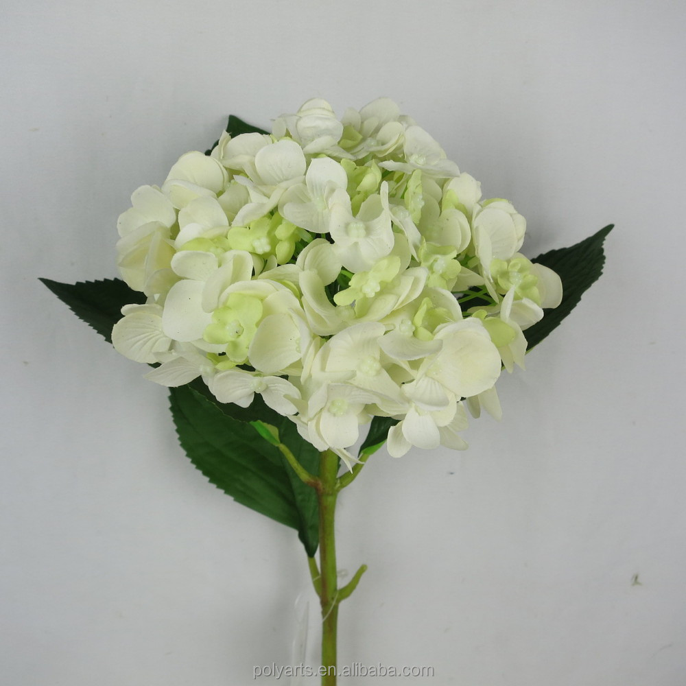 2015 Spring Color Artificial Hydrangeawhite Hydrangea Artificial