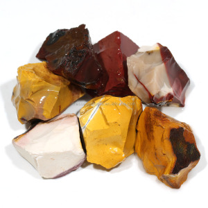 Wholesale Natural Mookaite Jasper Tumbled Rough Assorted Stone Gemstone For Gifts