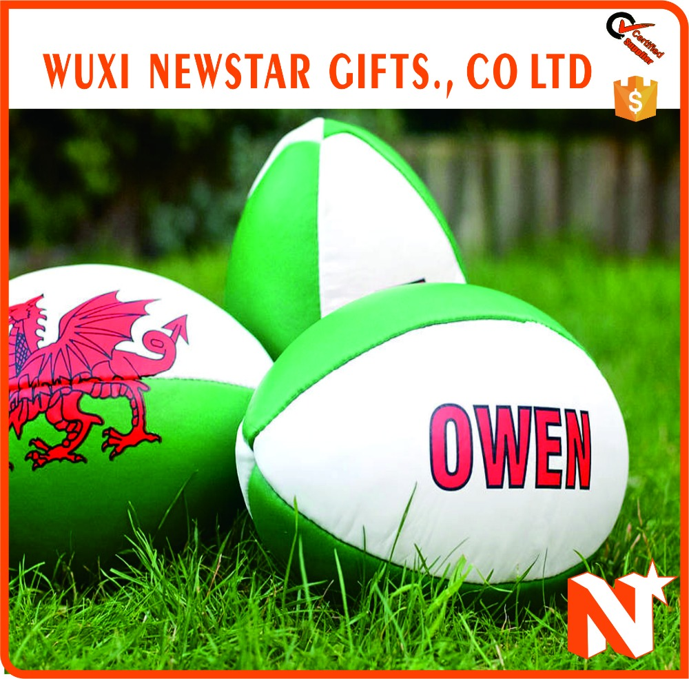 Sale Well Custom Inflatable Rugby Ball Outfit