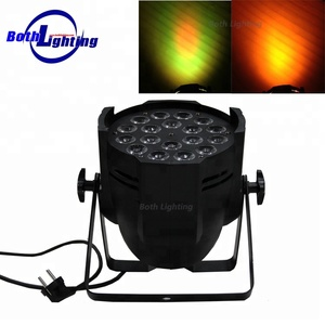 2018 China stage 18pcs led par light rgba 10w 4in1 led stage par light disco lighting
