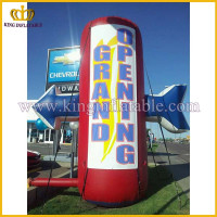 Inflatable opening grand model, inflatable adverting arrow, arrow logo replica