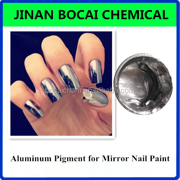 Ongles chrome poudre for Effet miroir paint