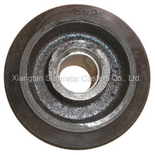 Hot sale 6inch small rubber wheels for steel cart