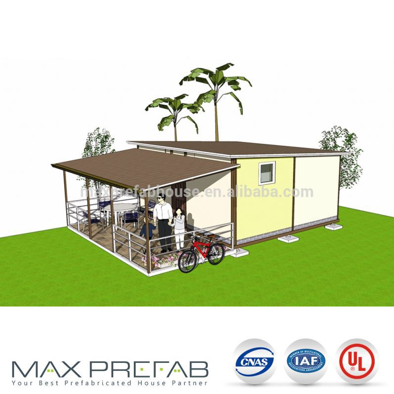 KH7858 steel frame home building prefab kit homes