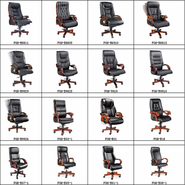 Malaysia Office Chair Wooden Executive Chair For Sale Foh B108