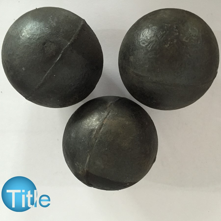Dia.17-150MM High Chrome Steel Casting Grinding Iron Media Ball