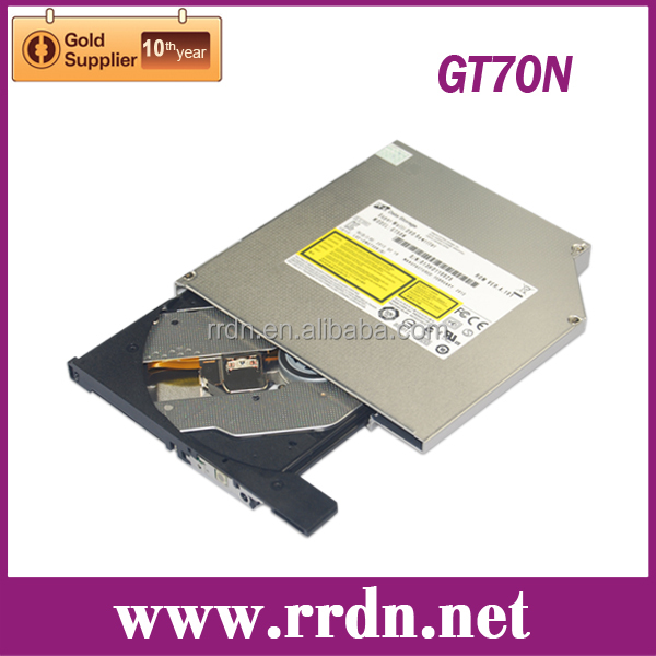 Original GT70N New SATA Tray loading 12.7mm DVD Burner DVD/CD RW