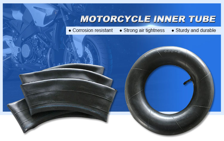 4.00-8 high quality butyl rubber wholesale motorcycle inner tube