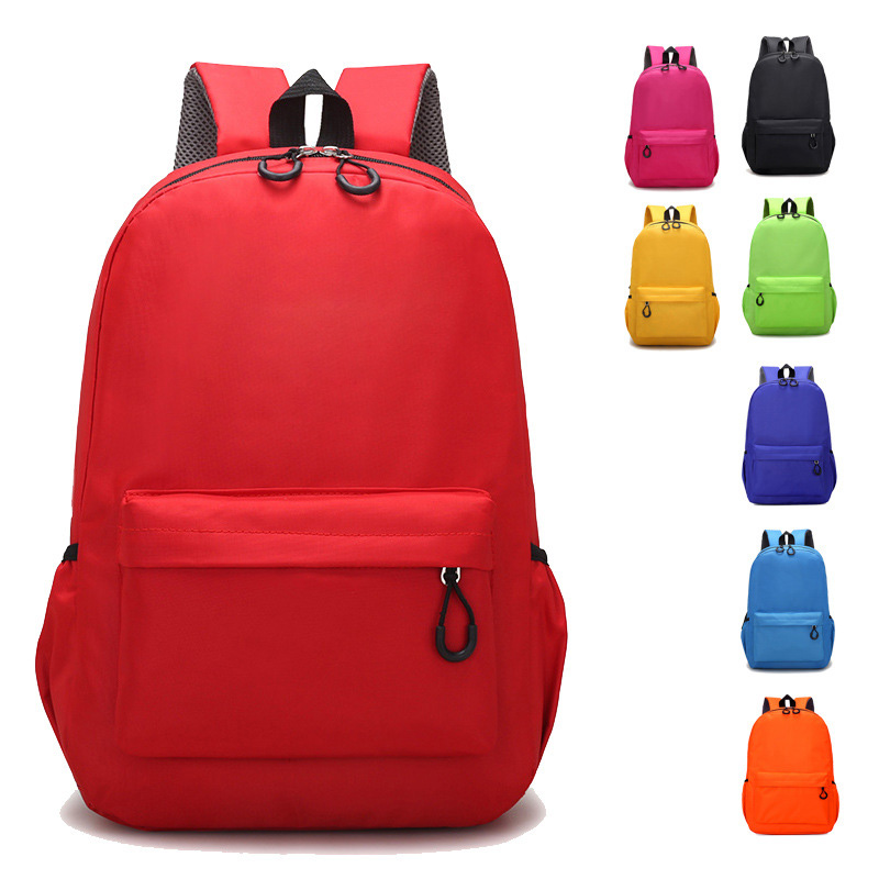 2020 Trending products Custom LOGO Children backpack with  Multiple colors in China supplier