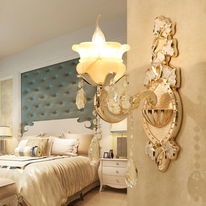 metal headboard hotel wall mounted bedside lamp led wall mounted reading bronze wall lamp SJ0208