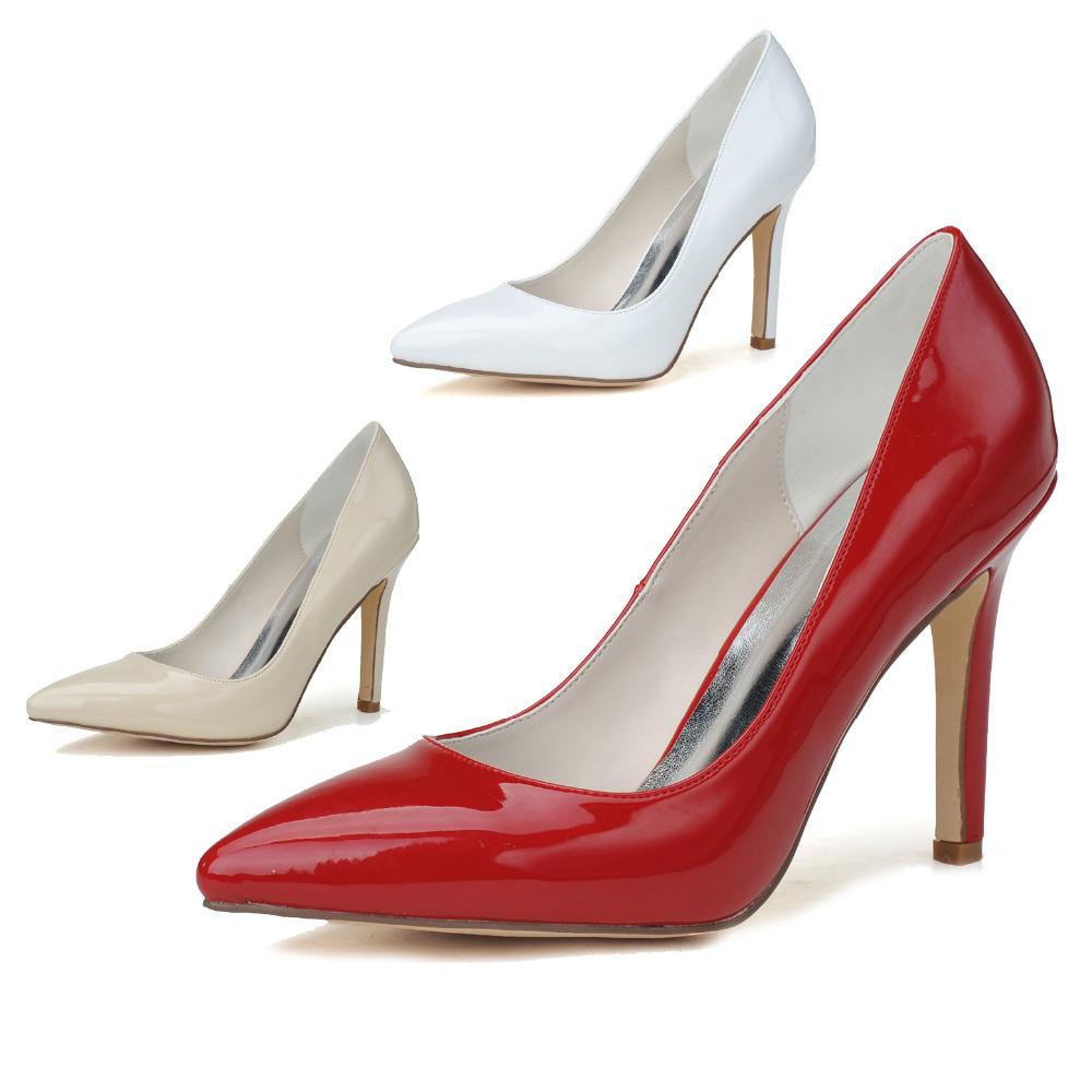 Red Prom High Heels Is Heel