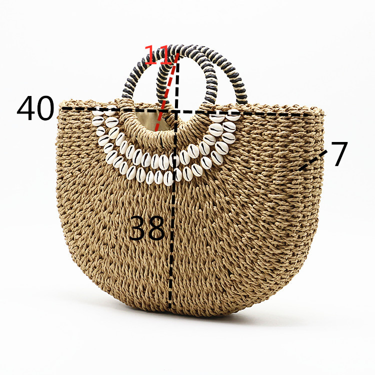 ANGEDANLIA handmade straw totes wholesale on sale for women-2