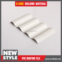 easy installation decorative pvc sheet for roofing