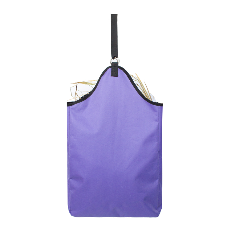 Durable Custom 600D Polyester Grass and Straw Horse Hay Tote Bag
