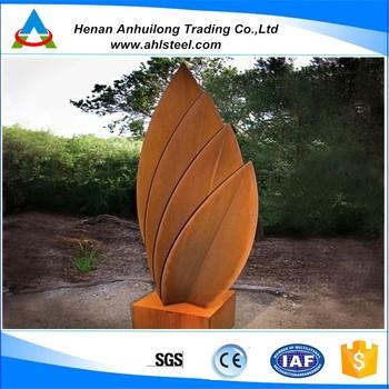 jardn de escultura precio chapa de acero corten