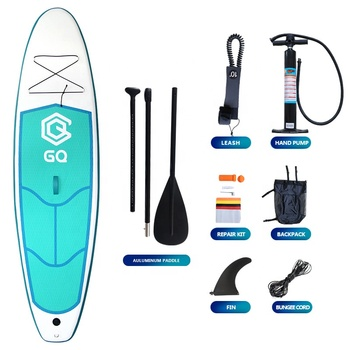 Soft top air inflate sup paddleboard ที่มีครีบ sup paddle inflatable ราคาถูก isup