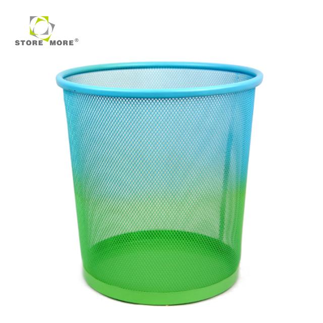mesh metal waste paper basket-Source quality mesh metal waste paper ...