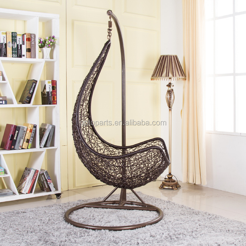 Swing Chair For Bedroom Single Seat Iron Hanging Chair Cushion - Bedroom swings