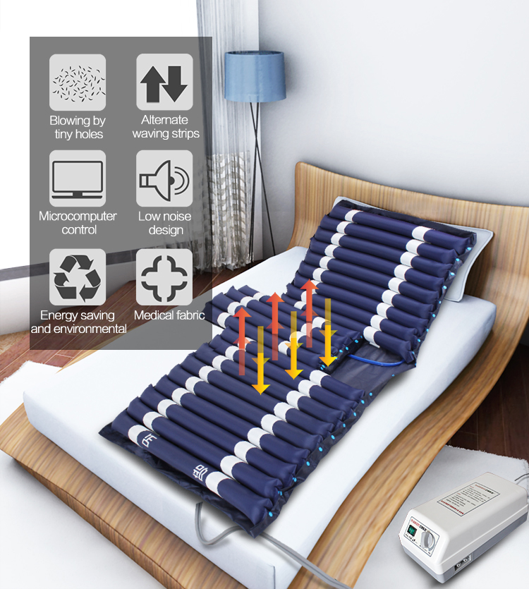 Cheap price customized size folding air mattress with defecation hole
