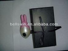 Small quiet vibrator with remote control