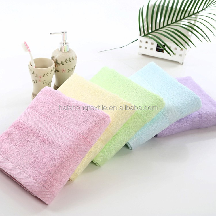 Eco-friendly Cheap antebacterial organic bamboo Bath pool sports sweat cool ice Towel