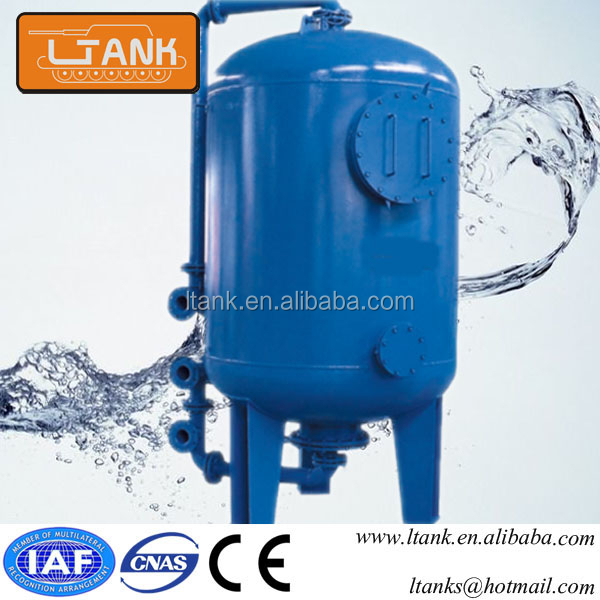 Liquid Phase Multimedia Activated Carbon Water Filter Vessel