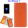 2 in 1 Horizontal Flip Separable Magnetic Wallet Flip Leather Case for iPhone 7