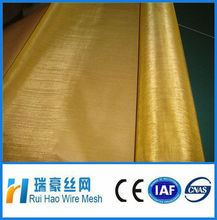 large stock brass wire mesh/brass screen mesh