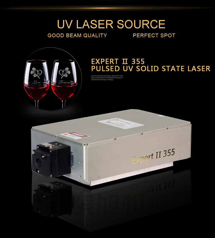 glass laser marking for graphic