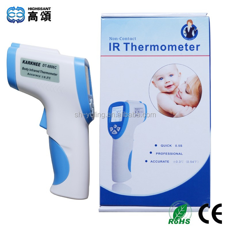 DT-8806C clinical infrared body thermometer with CE, RoHS certificates