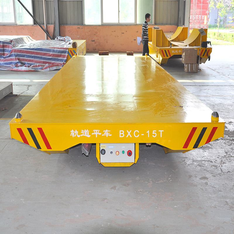 4t motorized handling bogie with tippler