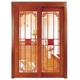 100% solid wood luxury carving used wood exterior doors