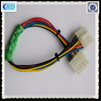 molex 10 pin wire harness multi core cable for medical ... 2 pin wire harness 10 pin wire harness #9
