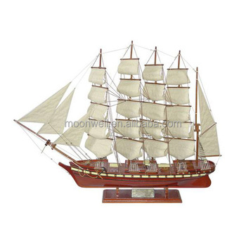Historical Tall Ship ModelquotPotosiquot Wooden Sailboat Modelsailing Boat