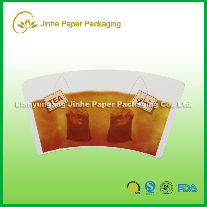 PE coated printed cups laminate paper factory with KUNLUN bank