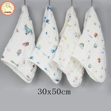 6 layers of cotton gauze bibs 30 50 clever baby appease towel baby calm wipe baby