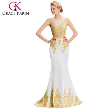 White karin maxi dress