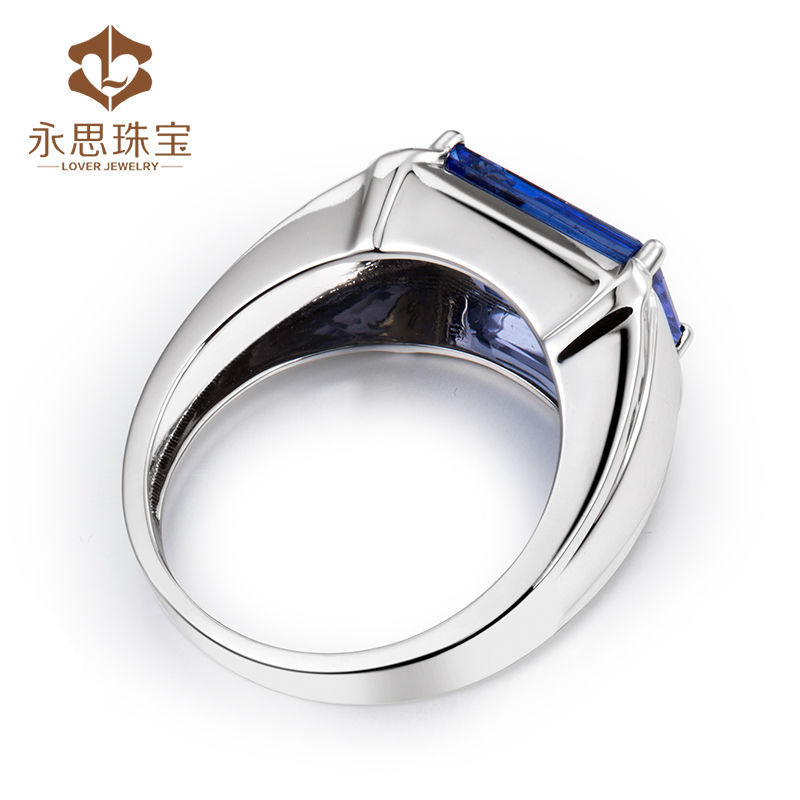 tanzanite zirconia ring s sizes cubic silver men sterling mens products