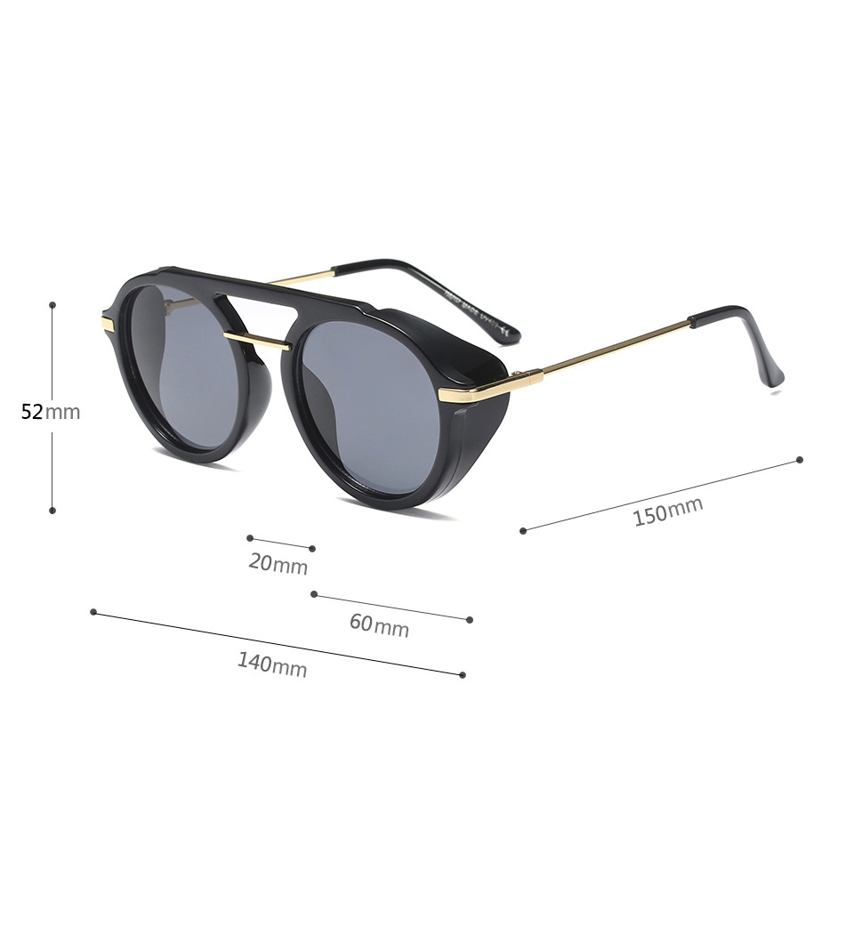 HJ private label sunglasses glasses double bridge high quality women fashion uv400 cheap polarized sunglasses