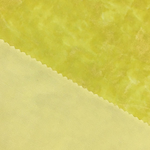 Polyester Microfiber Knitting Stretch Crushed Ice Shiny Fabric FLX8002 324