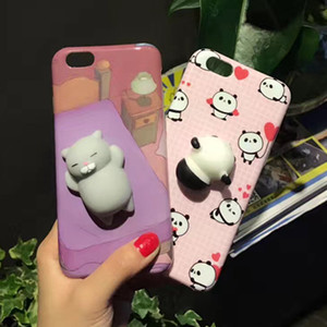 2017 NEW Anti-Stress Plastic Squishy Kneading Silicone Case for iPhone 7