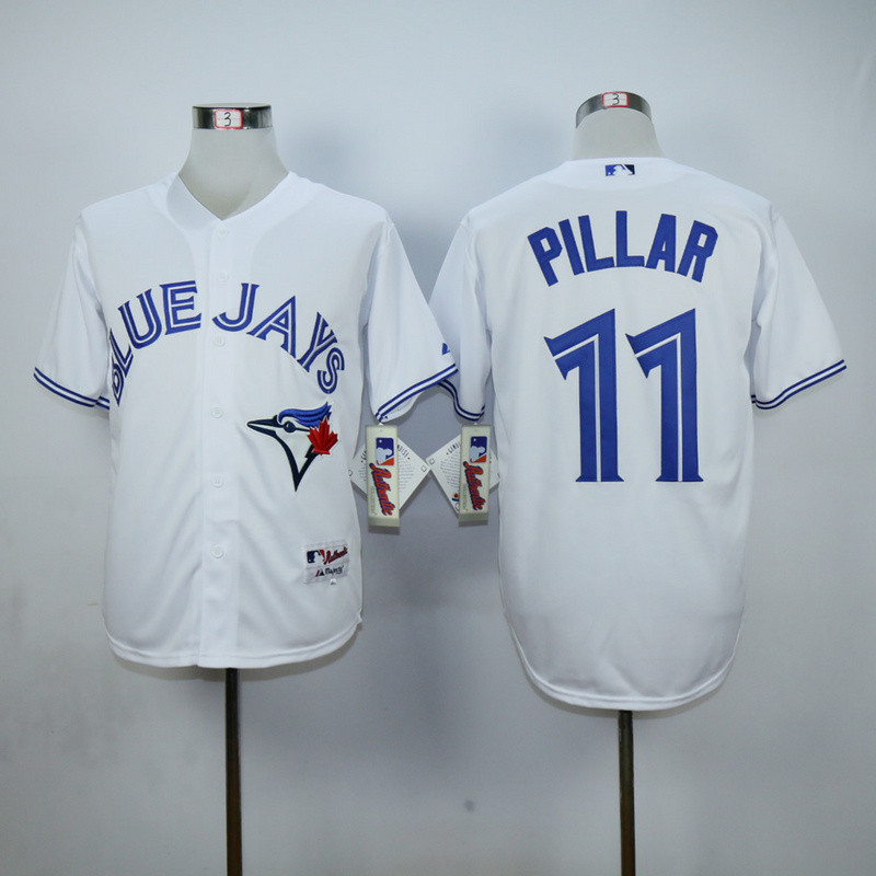 a31bf7eea96 ... Authentic Blue Alternate Jersey - Kevin Pillar 2016 Newest Toronto Blue  Jays 11 Kevin Pillar .
