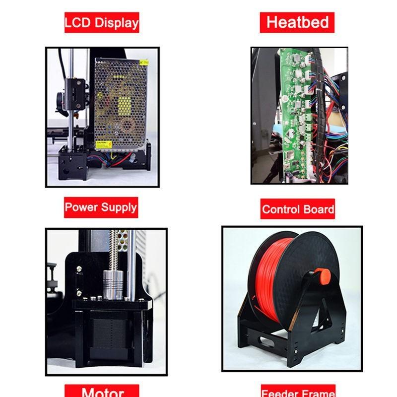 Auto level 3D printer Reprap prusa i3 DIY kits automatic leveling