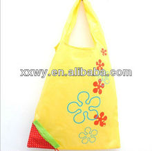 promotional fashion daily use Environmental non-woven folding shopping bags