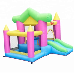 Hot design home used inflatable castle bouncer / bouncy house party castle for kids