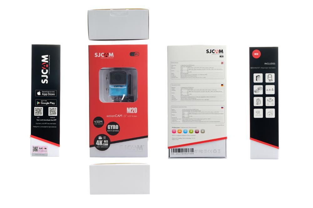 Sjcam M20 Small Action Camera Novatek 96660 16m Slow Motion Video Lapse  Time Lapse Camera - Buy Time Lapse Camera,Very Small Video Camera,Sj3000