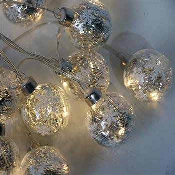 Factory Supply Christmas Decoration Led Round Ball String Lights