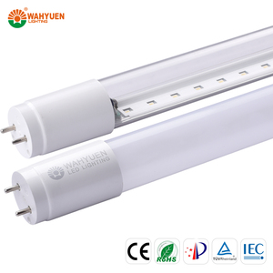 free sample 130 lux 18w PC tritium light tube with ce rohs iec t8 led tube light