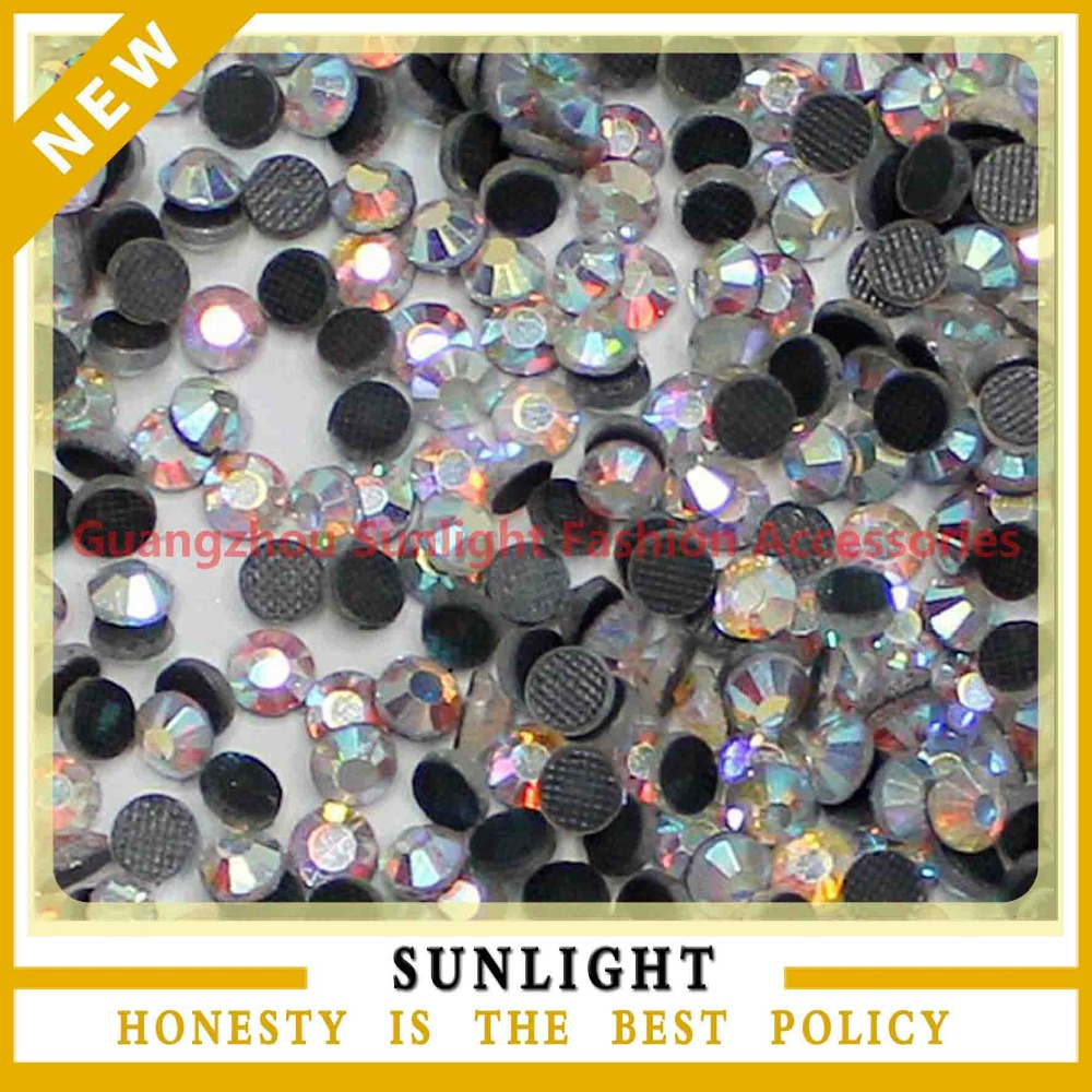 hot fix rhinestones for heat motif transfer designs various colors and sizes