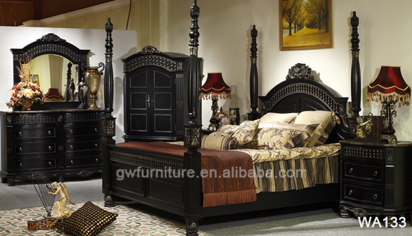100 hand carved solid wood furniture for bedroom black for Bedroom furniture designs pictures in pakistan